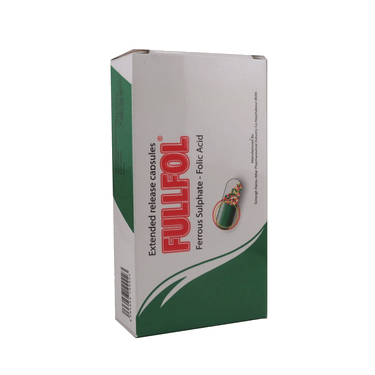 کپسول فول فل کپ فروس سولفات - فولیک اسید 30 عددی سیمرغ