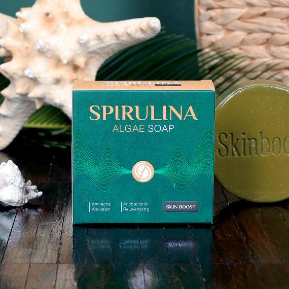 صابون جلبک اسپیرولینا