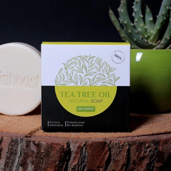 صابون روغن درخت چای زرین دارو