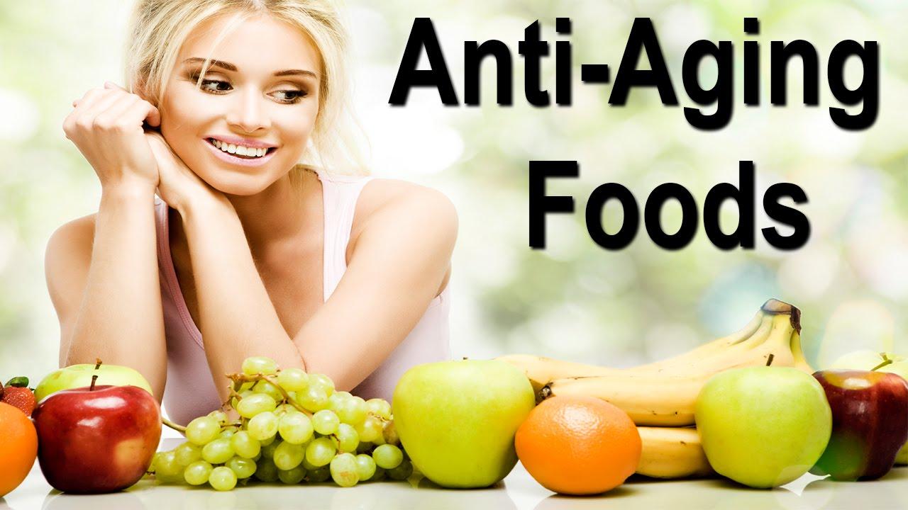 10 ماده غذایی جوان کننده و ضد پیری